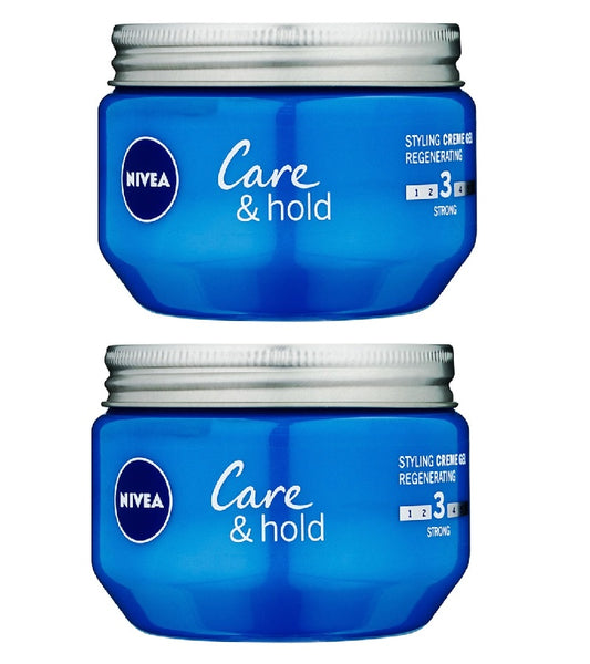 2xPack Nivea Care & Hold Cream Hair Gel - 300 ml