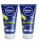 2xPack Nivea Men Elastic Hair Gel Extra Strong Fixation - 300 ml