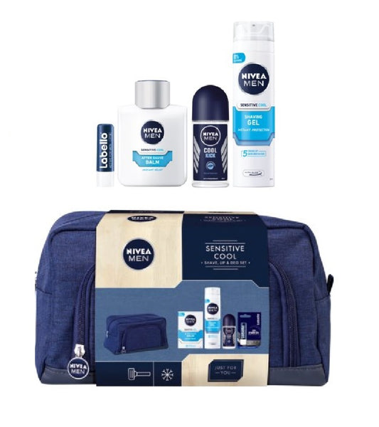 Nivea Men Sensitive Cool 5-Piece Gift Set XX