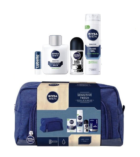Nivea Men Sensitive Fresh 5-Piece Gift Set