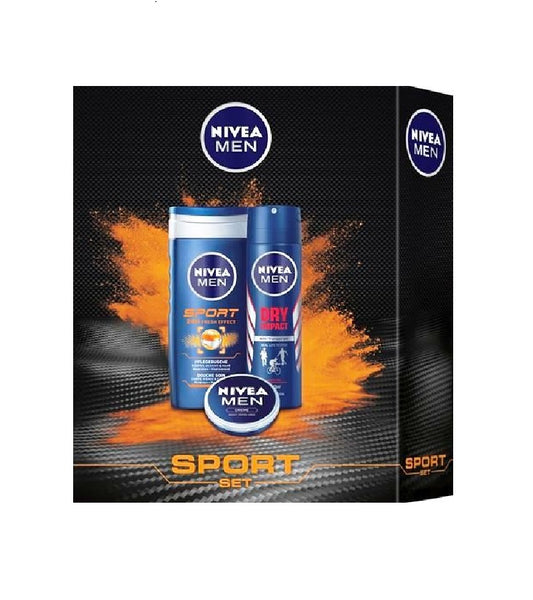 Nivea Men Sport 4-Piece Gift Set - Eurodeal.shop