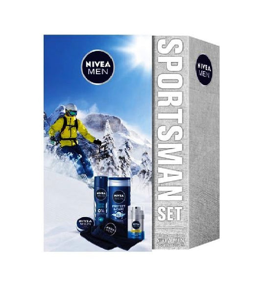 NIVEA Men Sportsman 6-Piece Gift Set - Eurodeal.shop