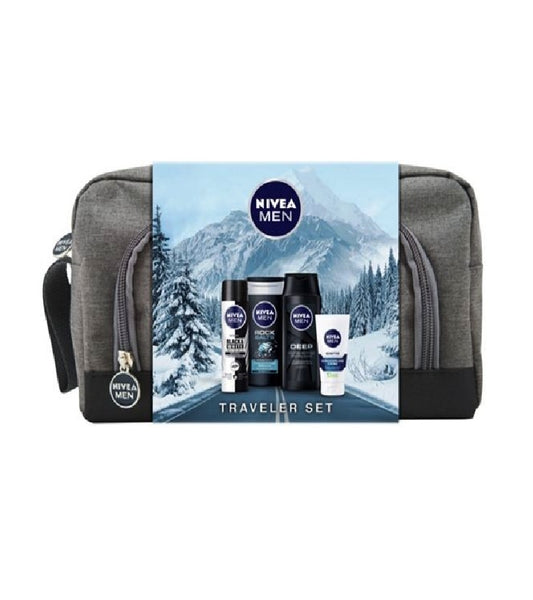NIVEA Men Traveler 5-Piece Gift Set - Eurodeal.shop