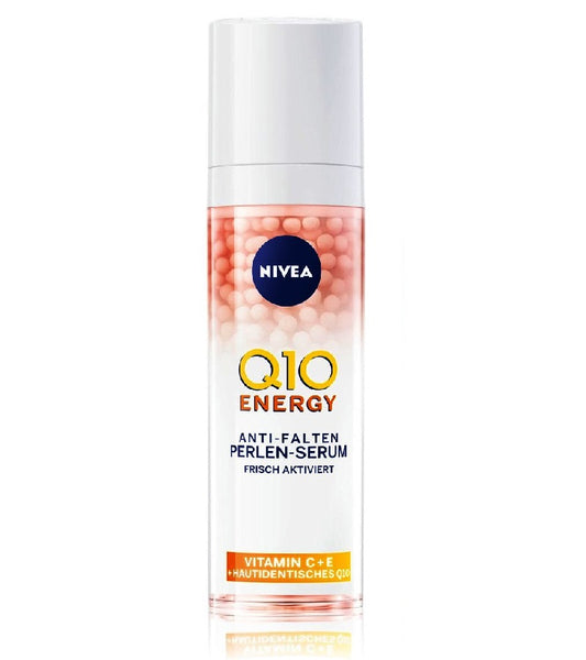 NIVEA Q10 Energy Anti-Wrinkle Pearl Face Serum for Women - 30 ml