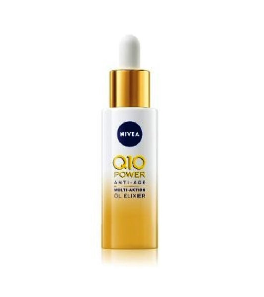 NIVEA Q10 Power Anti-Aging Multi-Action Oil Elixir - 30 ml