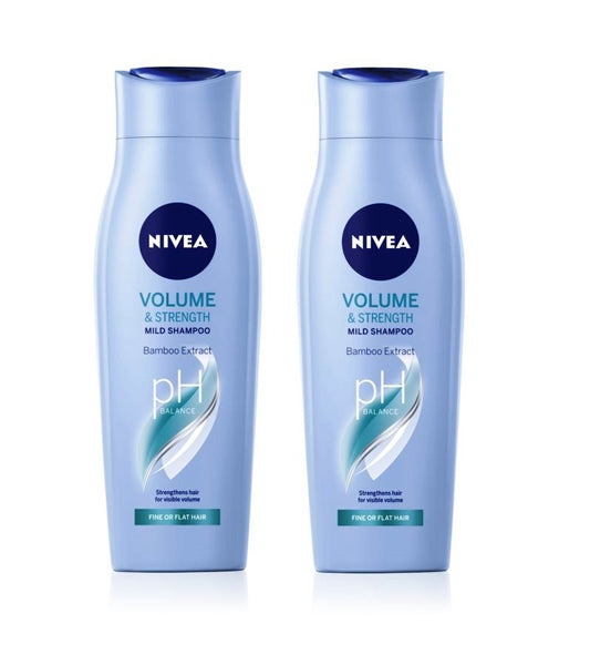 2xPack Nivea Volume Sensation Shampoo for More Volume - 400 ml