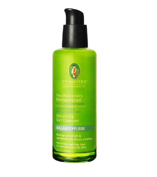 PRIMAVERA Organic Sage & Grape Cleansing Gel - 100 ml