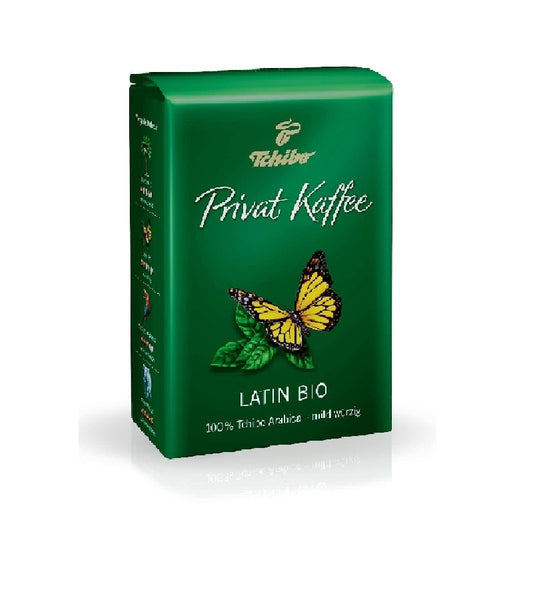Tchibo - Private Coffee  Latin Organic - 500g whole beans - Eurodeal.shop