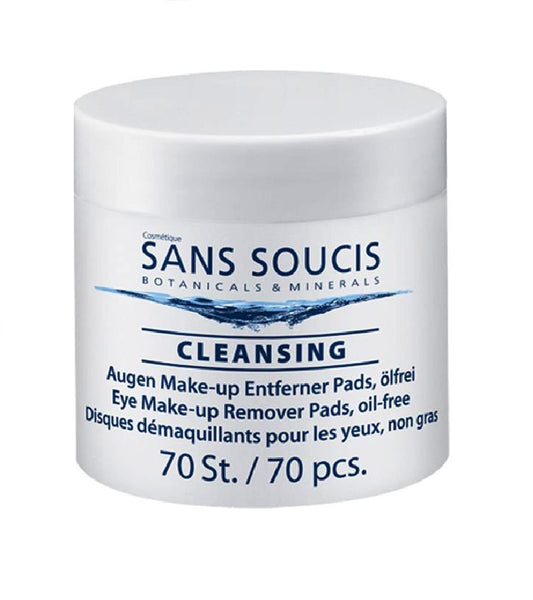 Sans Soucis Cleansing Eye Makeup Remover Pads, Oil Free