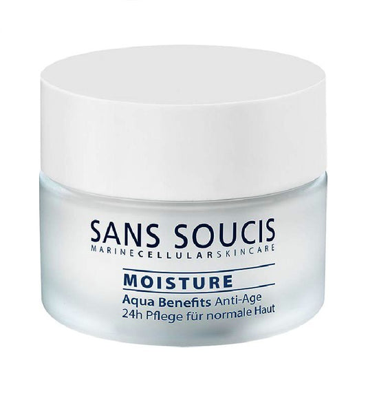 Sans Soucis Moisture Aqua Benefits Anti-Age 24h Care for Normal Skin