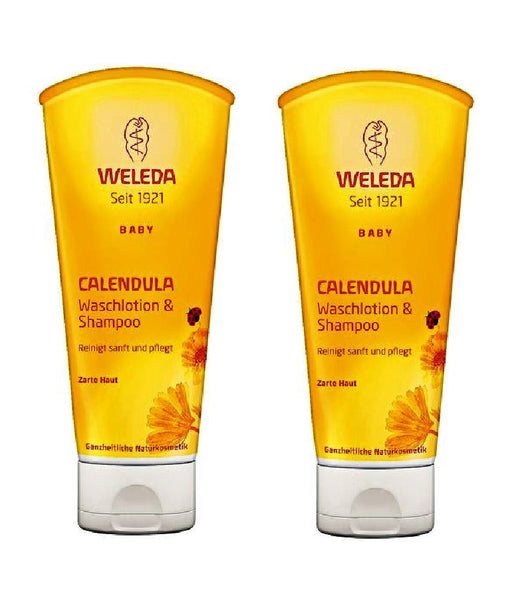 2xPack WELEDA Baby and Child Shampoo & Shower Gel for Children 400 ml
