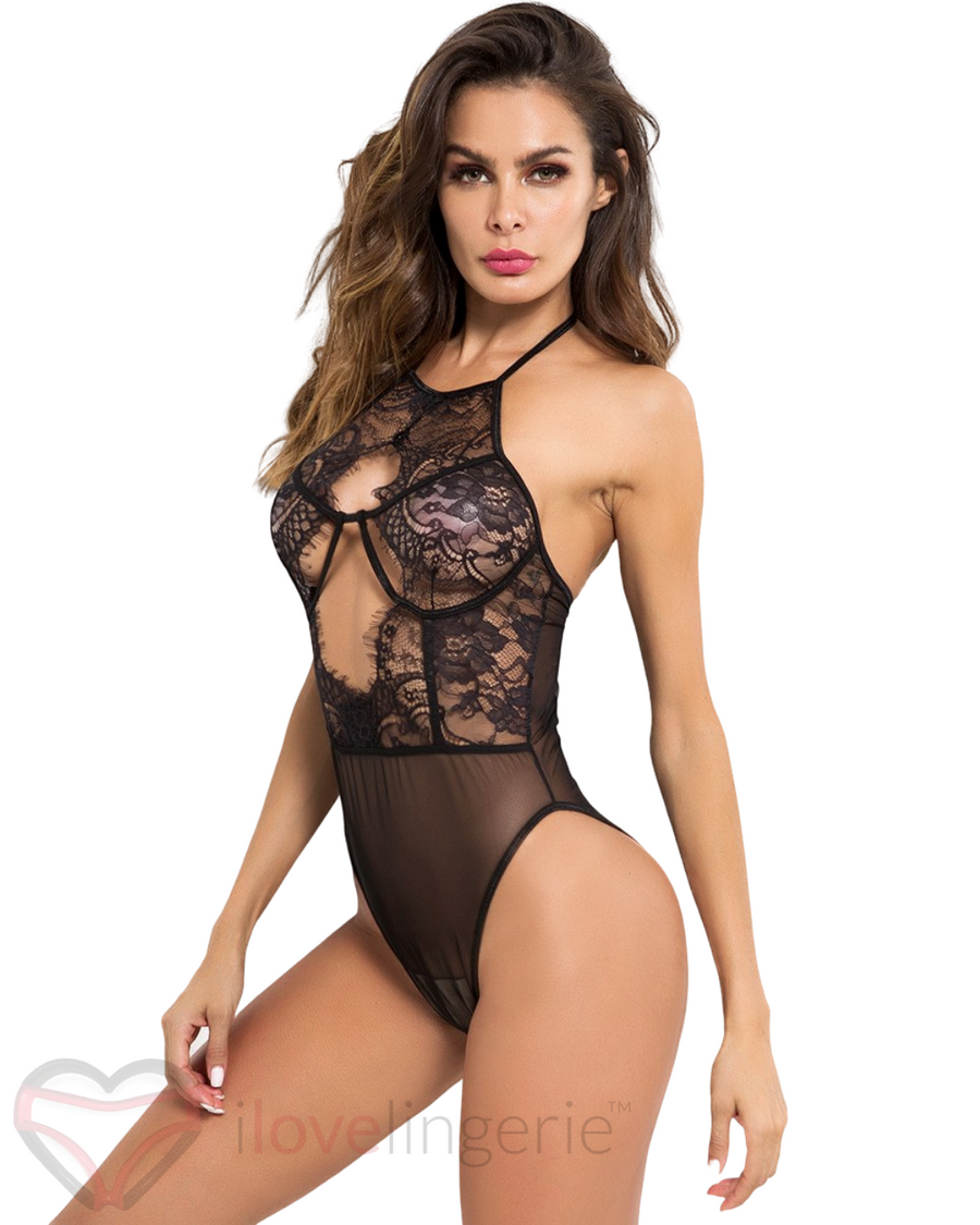Gabi Black Body Suit