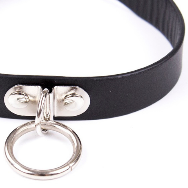 Bondage Bottega, Juno Black Slave Collar