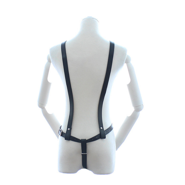 Bondage Bottega, Edith Bavaria Black Leather Full Body Harness