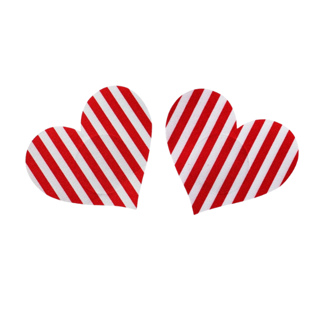 Candy Heart Heart 5 Pair Nipple Pastie Set