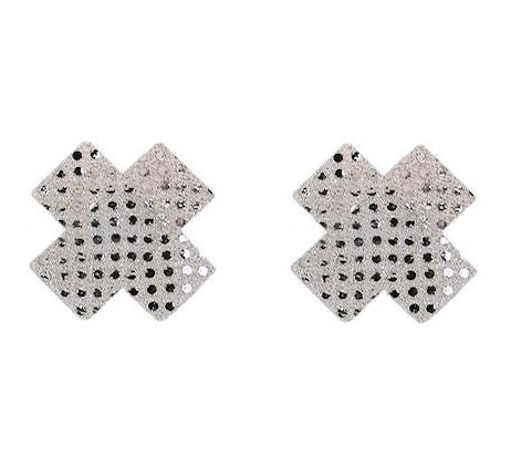 Sequin Cross 5 Pair Nipple Pastie Set