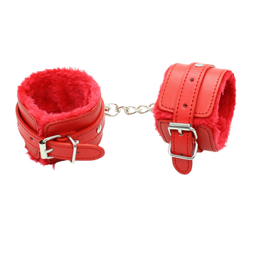 Bondage Bottega, Milenka Red Handcuff Restraints