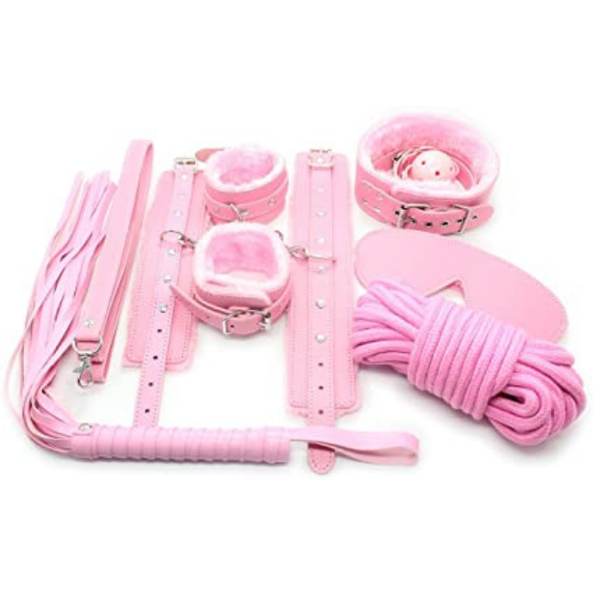 Bondage Bottega, Isidore Pink BDSM 10pc Kit