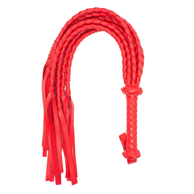 Bondage Bottega, Axel Red Large Flogger