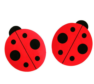Lady Bug 5 Pair Nipple Pastie Set