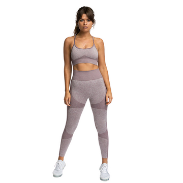 InstantFit, Toasty Sand Two Piece, Racer-Back Compression Set