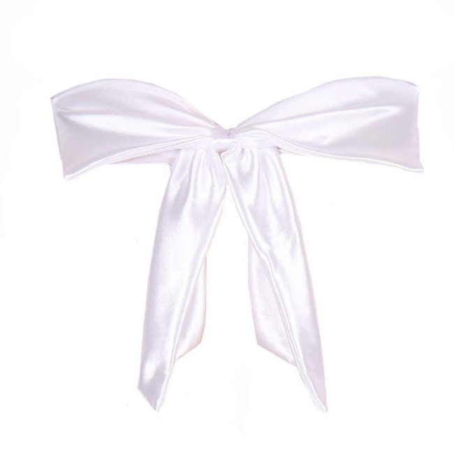 The Perfect Gift, White Satin Body Bow
