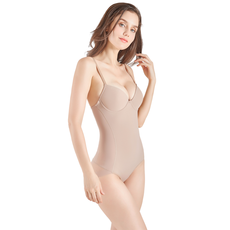 Baroness Full Body with Built-in Bra Compression Shapewear