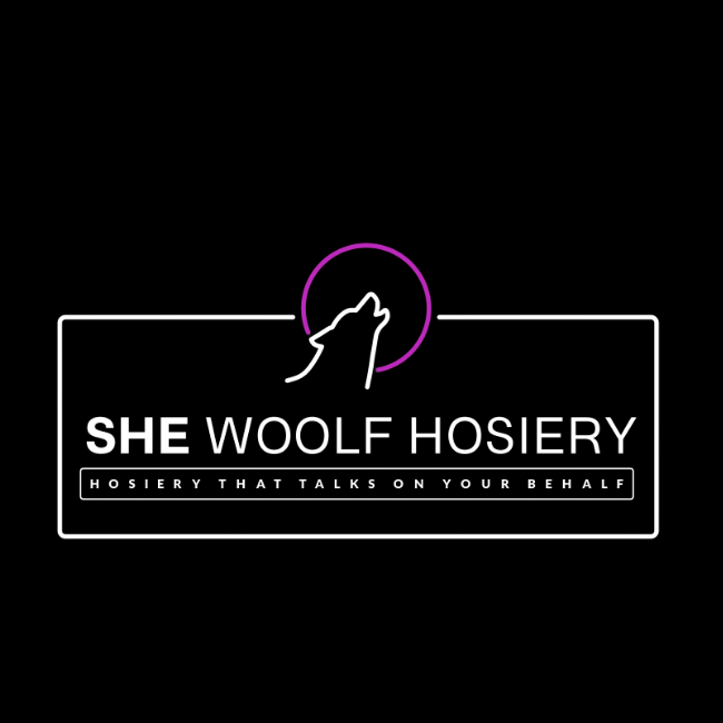 She Woolf Hosiery, Dim The Lights, Pink Full Length Long Sleeve Body Stocking