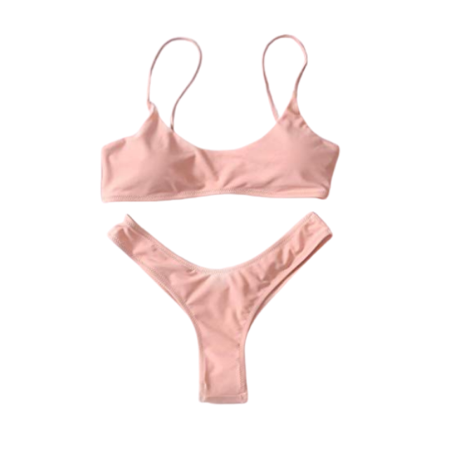 Tropical Honeyguide Dusty Nude Brazilian Matching Bikini