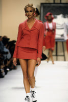 Chanel Runway Look Hot Pink Bouclé Wool Suit - Spring/Summer 1994