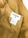 Chanel Tan Suede Gilet - 1999