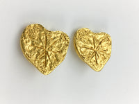 Lacroix Gold-Plated Modernist Earrings Brooch, by Goossens - 1994