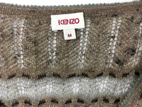 Kenzo Lurex Sheer Knitted Dress - 1990s