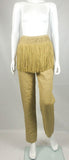 Valentino Fringed Linen Trousers - Early 1990s