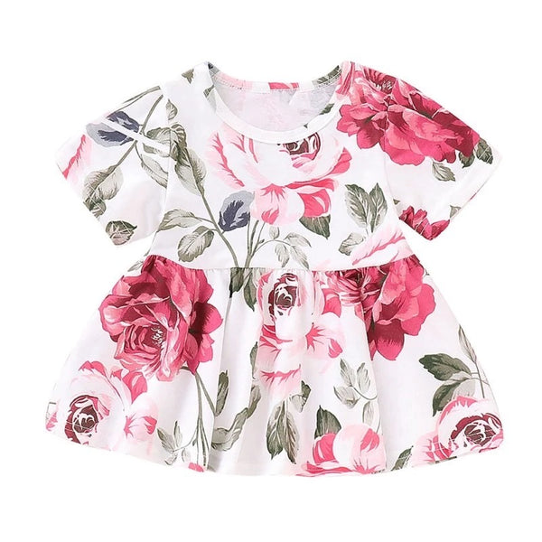 Floral town tops