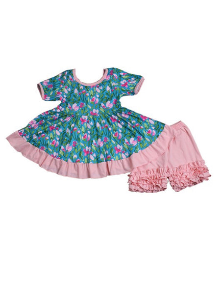 Mia Rowe 2pc dress ruffled set