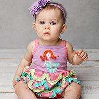 Mermaid Wave Bubble Romper
