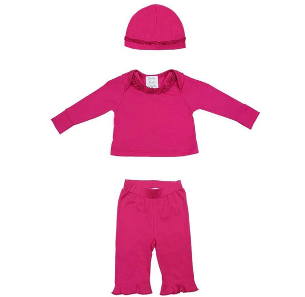 Annise 3 piece Layette set