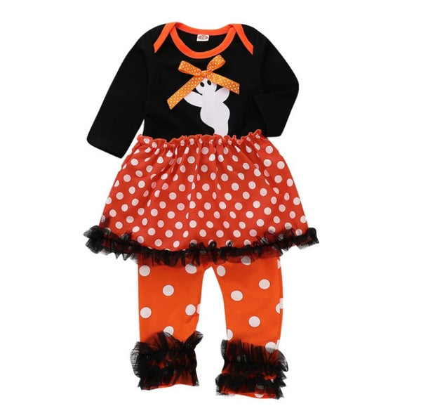 Boo for you 2 pc black and orange