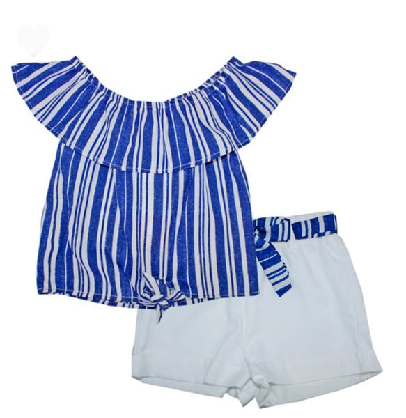 Emily Ann 2 pc short set