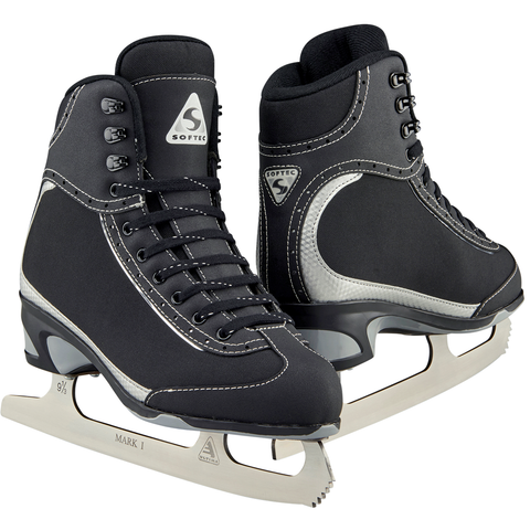 Jackson Ultima Softec figure skates in black