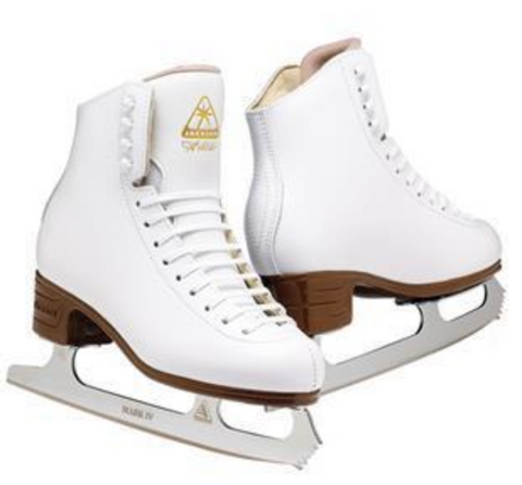 Jackson Ultima Ascend Series figure skates in white
