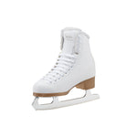 Jackson SoftSkate 380 White and Fleece Figure Skates