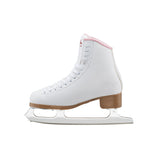 Jackson SoftSkate 380 White and Pink Figure Skates
