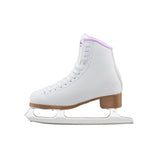 Jackson SoftSkate 380 White and Purple Figure Skates