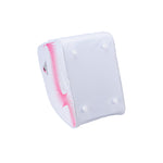 Jackson Ultima oversized skate bag in pink and white with white trim