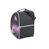 Jackson Ultima oversized skate bag in purple and black with white trim
