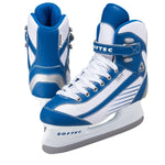 Jackson Ultima Softec Sport blue and white women's youth recreational hockey skate