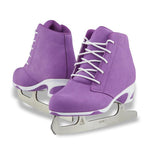 Jackson Ultima Softec Diva women's girls purple figure skates