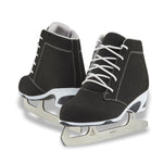 Jackson Ultima Softec Diva women's girls black figure skates